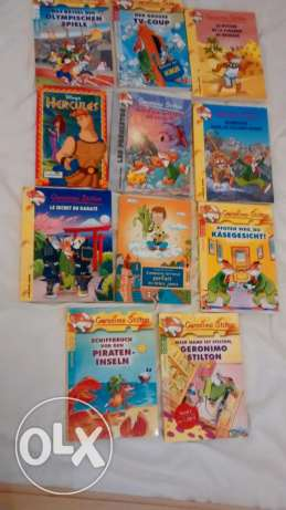 Many kids books and stories