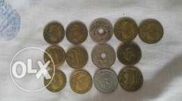 Very old coins all kinds