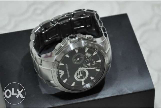 The famous Armani silver and black (genuine with the warranty) وسط المدينة -  2