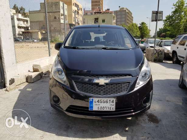 Chevrolet Spark Ls MY2012 Black Automatic 1 Owner As New
