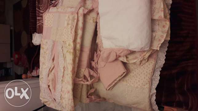 Baby girl bed set