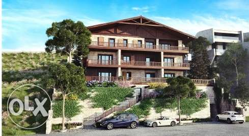 Ag-576-17 Chalet for Sale at Zaarour Club, 99m2