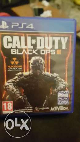 Call of duty black ops 3 ps4 كسروان -  1