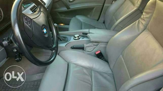 German 530i,good condition,ba3da 3a kayena Bmw 530i