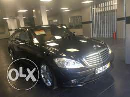 Mercedes S 500 look AMG Designo model 2009 black