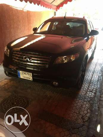 Infiniti fx 35 technology model 2005 for sale برج البراجنة -  7