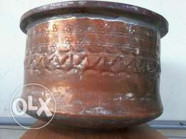 Antique german Cooker, heavy red copper, more than 150-200 years old,