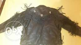 leather germents jacket