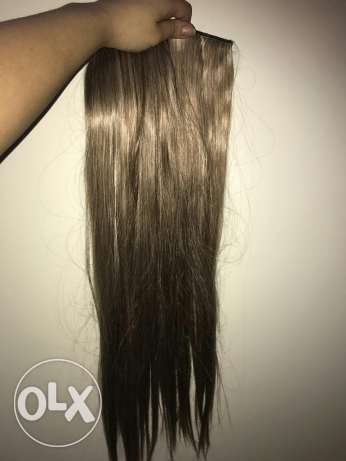 Hair extension very nice color ash gold