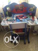 Spider-Man desk