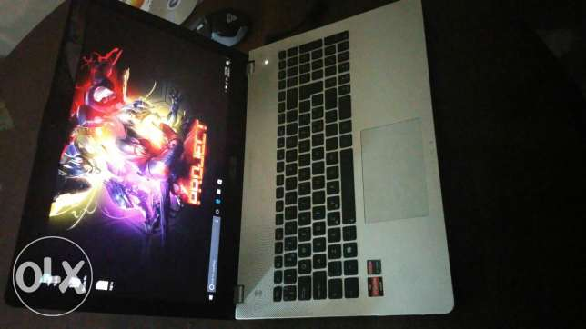 Asus A8 8 ram 2gb vga up to 6gb AMd note book