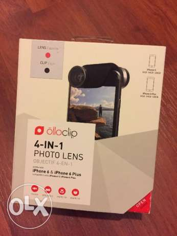 OlloClip 4-in-1 Lens Set for iPhone 6 and 6 Plus