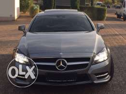 Mercedes CLS 500 AMG-LINE 2012 grey on black !! Fully loaded ! GERMAN!