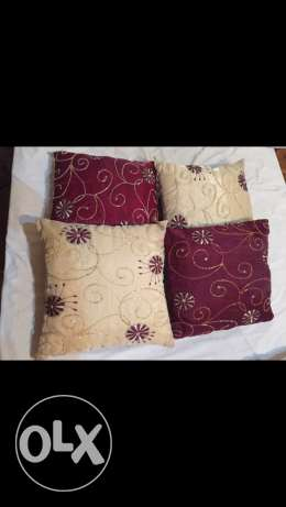 cushions embroidered