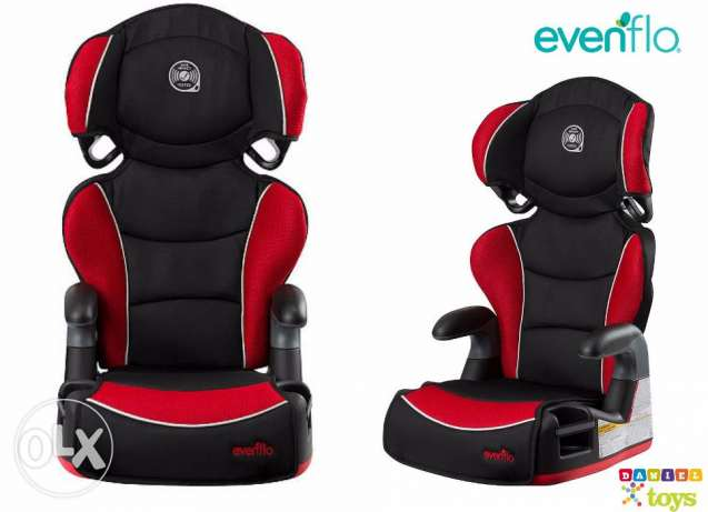 Evenflo Big Kid Amp High Back Booster Car Seat - Heatwave for only 99$