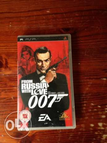 psp game 007 from russia with love