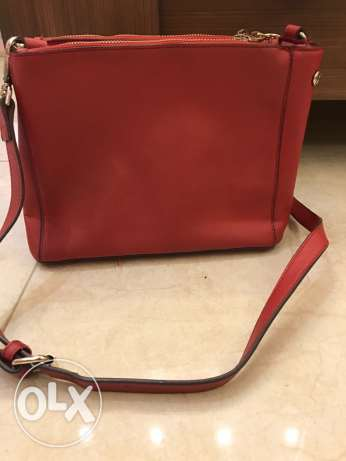DKNY Red Cross bag. Used/Good condition