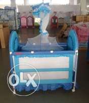 baby bed 6 in 1 blue