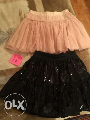 2 skirts 9-10 years, 7$ each piece