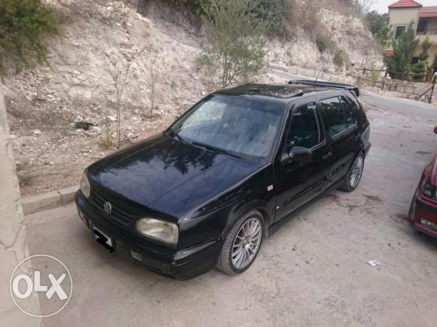 Golf 3 vr6 full vetess black color in perfect condition