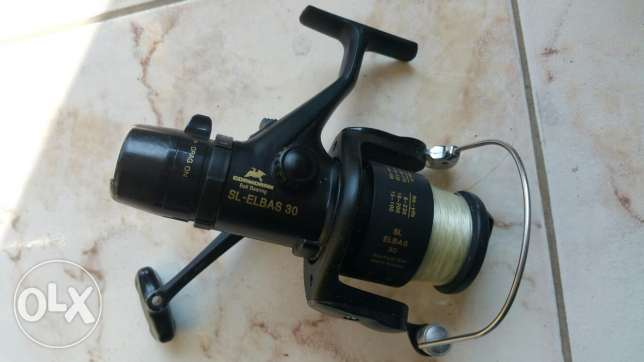 Comoran Electric reel for fishing molinet from germany