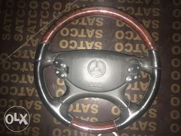 W230 SL Steering Wheel with Airbag