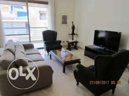 170sqm Furnished Apartment for rent Achrafieh Saydeh