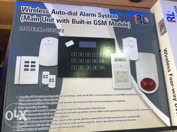 alarm system for home or office NEW