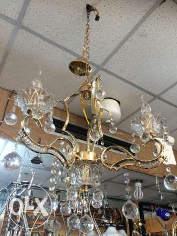Golden Lamp for Entree or salon or Sofra (small)
