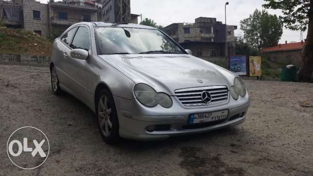Mercedes C320 coupe, model 2003,V6, panoramic