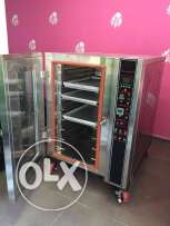 Electric oven new 8 tray (60/40) tree fasee