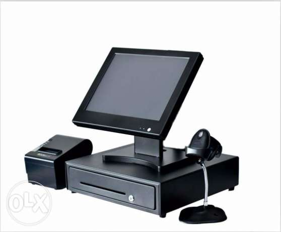 POS All In One Touch PC System + Software + Printer + Drawer (All NEW)