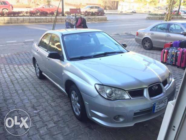 2007 Subaru Impreza Silver For Sale