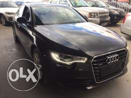Audi A6 2013 Black/Black Full Options 58,000 Km under warranty