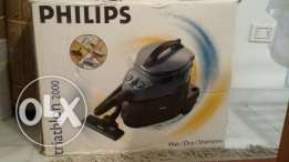 PHILIPS TRIATHLON 2000 wet and dry vacuum MADE in HOLLAND