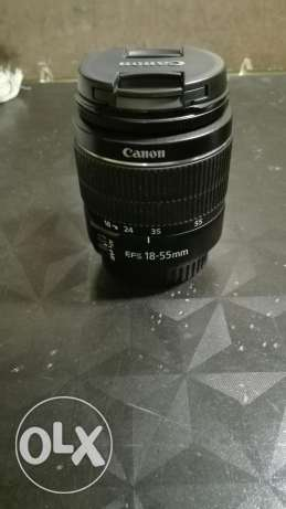 Canon zoom lense EF-S 18-55mm 1:3.5-5.6 lll