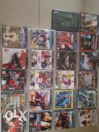 Ps3 for sale with 23 games and 3 Controllers