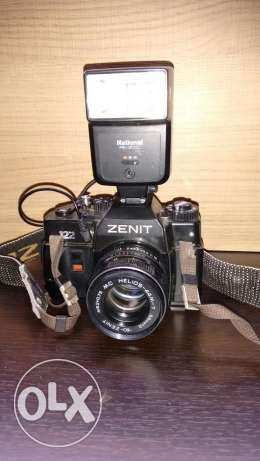 Zenit 122 + National flashlight PE-201C