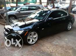 BMW 335 i Coupe Very Clean Fully Loaded Black Basketball Dagher Motors