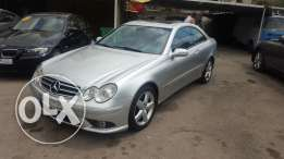 Mercedess clk 240 silver 2003 like new