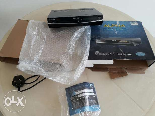 Alpha Digital DVD and Satellite receiver all in one
