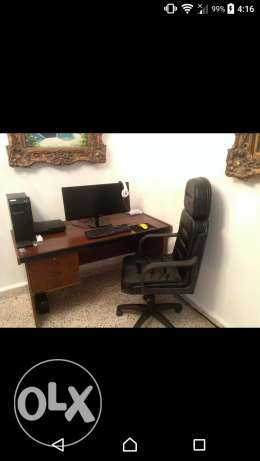 Pc Desk And Chair For Sale