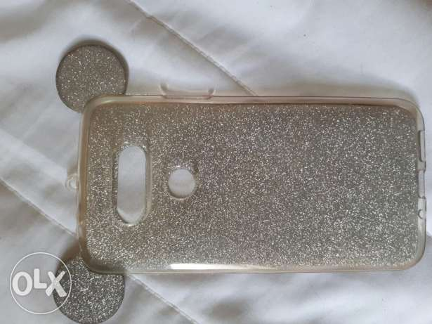 Lg g5 cover silver
