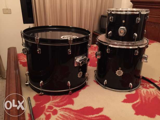3 pieces of a drums good as new
