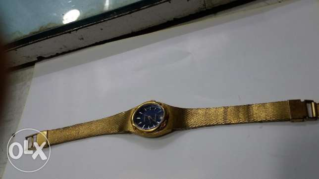 Rado automatic gold plated for lady