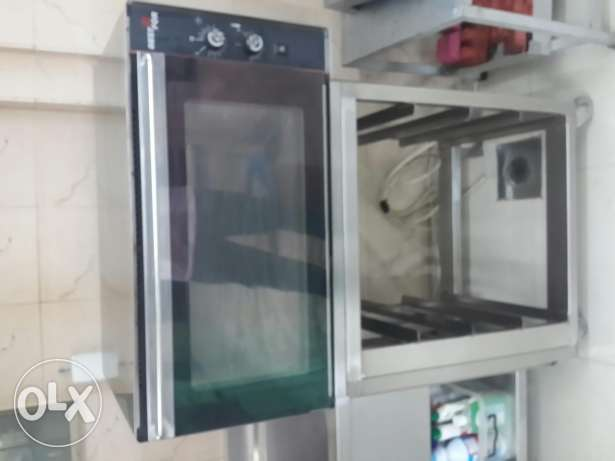"Convection oven 4 trays ""Best For brand Italian"""