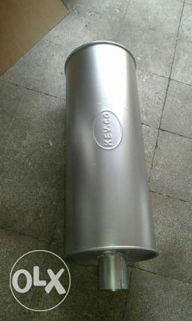 Muffler for Hino 6 cylinder/اشكمان لشاحنة هينو ٦ سلندر