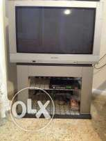 Tv panasonic+table