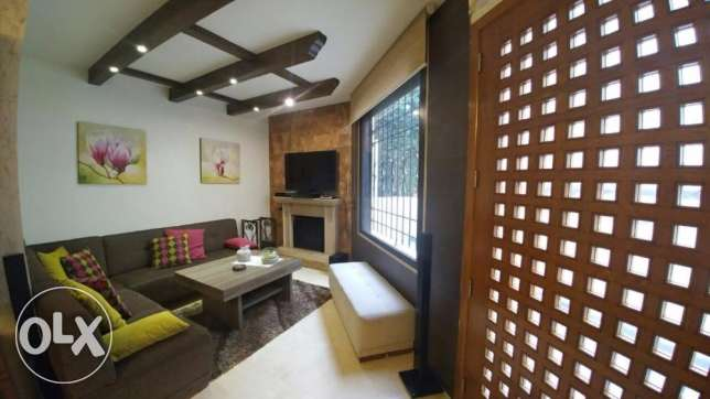 Ballouneh 170m2 + 110m2 terrace - ideal fully furnished -