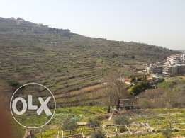 Land for sale in bhamdoun بحمدون